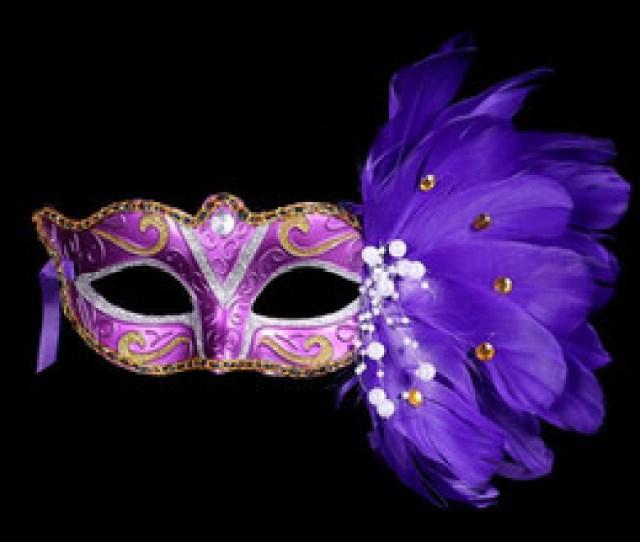 Adult Blue Film  Painted Feather Masks Christmas Mausoleum Masquerade Masks Venetian Princess Masks Discount