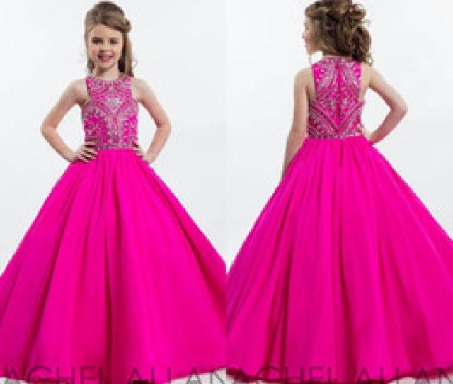 Hot Teens Dresses Online Shopping  Hot Pink Sparkly Princess Ball Gown Girl S Pageant