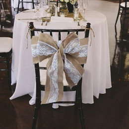 white linen chair covers for sale deschutes red nwpa beer advocate wedding linens online shopping 275 x 15cm lace bowknot burlap sashes natural hessian jute rustic cover tie decor diy crafts