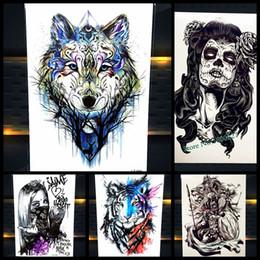 Wolf Tattoo Online Mujer Lobo Tatuaje Online En Venta En Esdhgatecom