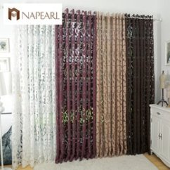 Discount Kitchen Curtains Glacier Bay Faucet Luxury 2018 On Fashion Style Semi Blackout Curtain Window Living Room Panel Jacquard Fabrics Door Inexpensive