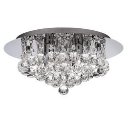 fluorescent light fixtures living room decor on a budget modern online shopping new round crystal ceiling k9 rain dorp for bedroom lighting dia40 h25cm