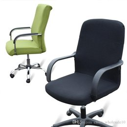 office chair covers uk wood shop computer free delivery elasticity side arm cover recover chairs stretch rotating lift without