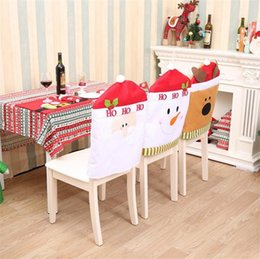 dining table chair covers online microfiber chaise lounge flocking shopping for sale high quality christmas chairs decoration supplies home party colorful cover dinner t5i045