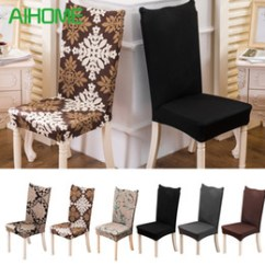 Cotton Dining Chair Covers Australia Breuer Chairs For Sale New Featured Removable Cover Stretch Elastic Slipcovers Modern Minimalist