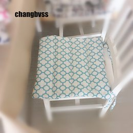 high chair floor mat nz wedding covers to make seat chairs buy new online from best quality cushion pad 1pcs plaid cushions