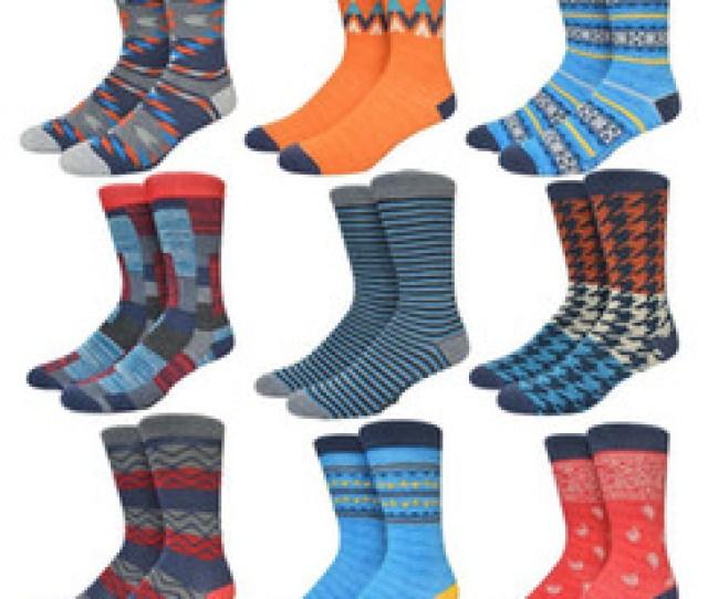 Dress Sox Australia Wholesale Colorful Happy Socks Cotton Suitable Casual Dress Socks Ethnic Houndstooth