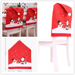 santa chair covers australia wooden eddie bauer high new featured at christmas desorstions claus snowman print home cover