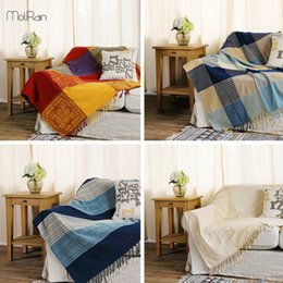 organic sofa uk ethan allen bed mattress shop cotton bedding free american style throw blankets for adults sleeping beds plaids knitted winter warm handmde blanket decor