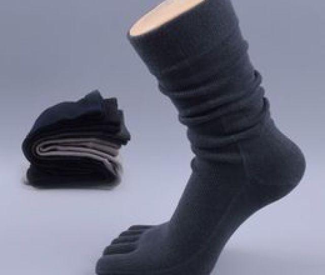 Dress Sox Nz  Pairs Brand Men S Business Dress Five Finger Toe Socks