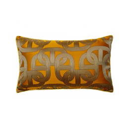 orange sofa uk bed dragon mart shop cushion covers free contemporary soft chain elipse waist pillow case 30x50cm home living deco car chair lumbar cover sell by piece