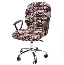 office chair covers uk dining chairs with rollers shop spandex arm free elastic computer cover seat stretch rotating covering desk slipcover yz0001