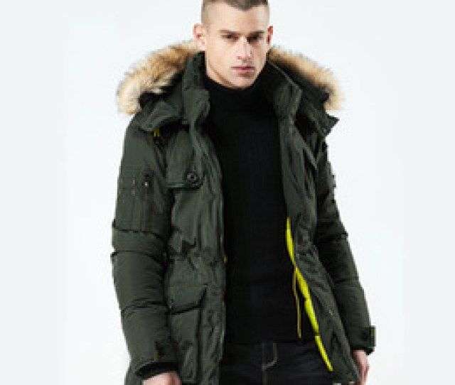 Casual Male Winter Coats 2018 New Thick Warm Winter Jacket Men High Quality Parka Hooded