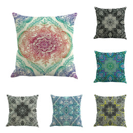 chair pad covers online india modern wingback chairs indian cushion shopping style mandala cover decoration religious belief decor bohemia pillowcase
