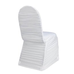 find chair covers for sale rocking wholesale white spandex cover canada best selling high quality universal ruched wedding party lycra ruffled hotel banquet