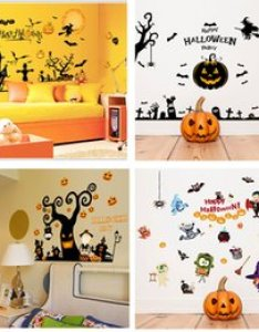 Decoration room wall chart paper online shopping  halloween stickers home remove life also rh dhgate