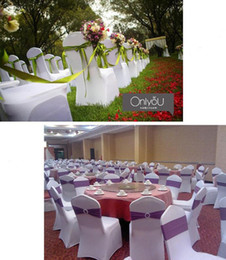wedding chair covers for sale australia plastic dining room seats spandex lycra cover wholesale new featured universal white sashes bow tie