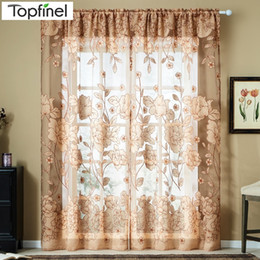 modern curtains for living room uk interior color small shop tulle free delivery top finel hot window curtain embroidered voile sheer the bedroom shade drapes panel d19011506