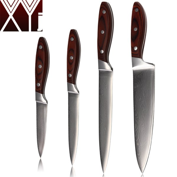 kitchen utilities 6 foot island coupons promo codes deals 2019 get cheap xyj damascus knives set 8 inch chef slicing 5inch