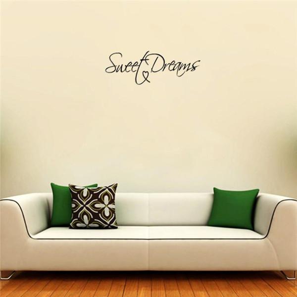 new fashion high quality creative diy removable sweet dream wall
