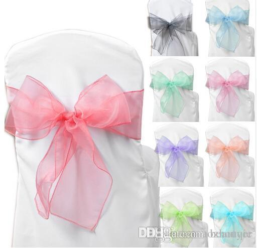 used lycra chair covers for sale folding kinematic diagram beautiful 18 multi color wedding decoration tulle flower yarn background gauze curtain ...