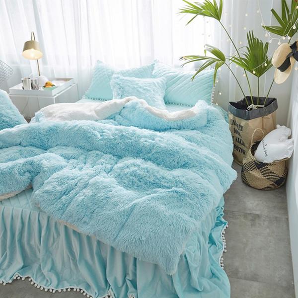 mink velvet white blue