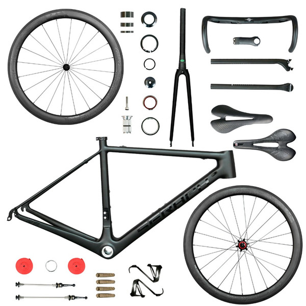 2019 New Road Bicycle Carbon Bike Complete Bicycle 40mm