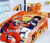 Teenage Teen Naruto Reactive Printed Bedding Bed Covers ...