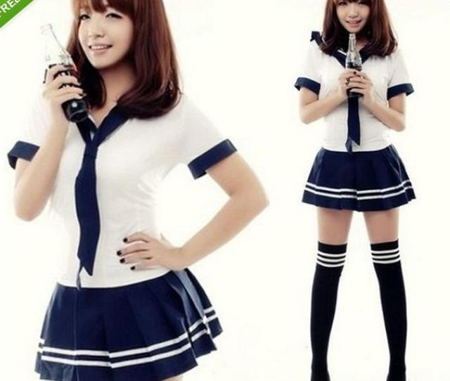 New Japanese School Girl Sailor Uniform Cosplay Costume Skirt And Blouses Set Clothing Cheap Clothing Online With 32 67 Piece On Aqueens Store Dhgate