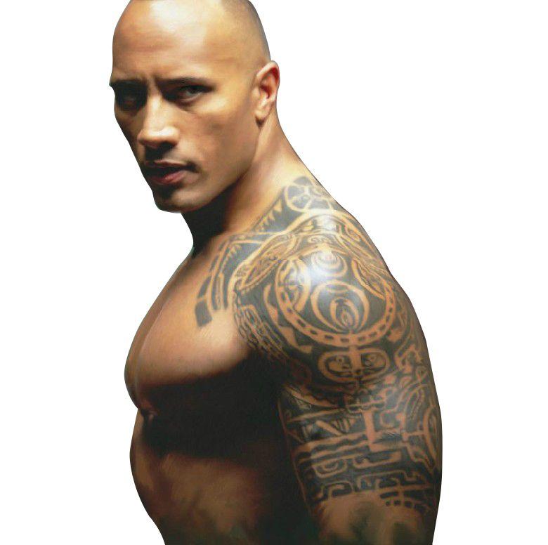 Los Tatuajes Temporales De Gran Mitad Del Brazo Del Hombro Falsas