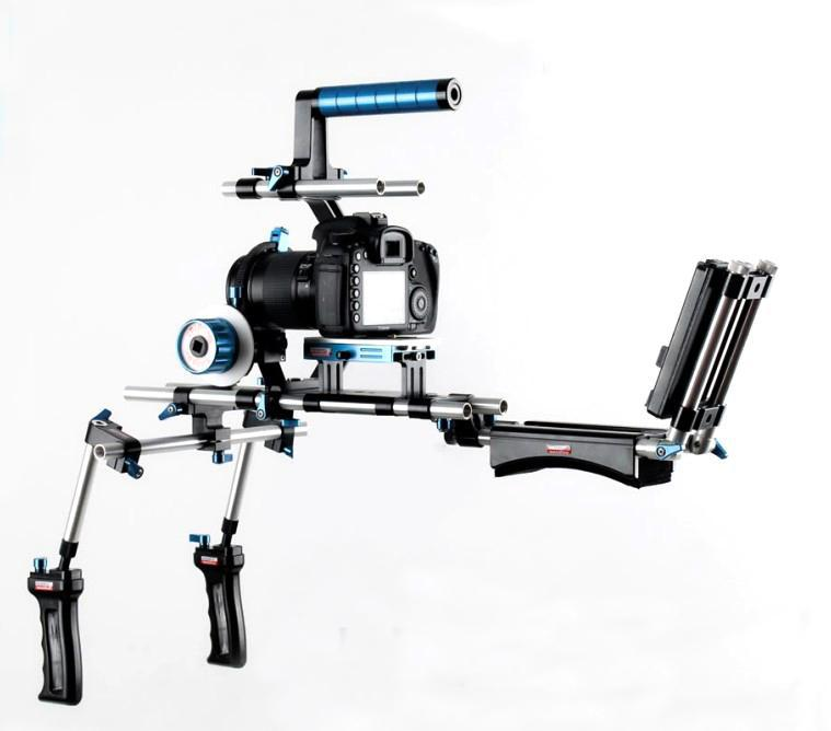 2020 Wondlan DSLR Rig Kit 15mm Rail Rod Support System
