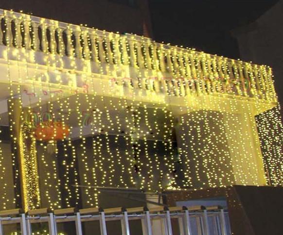 960 Led Lights 15m 2m Curtain Lights Christmas Ornament Light