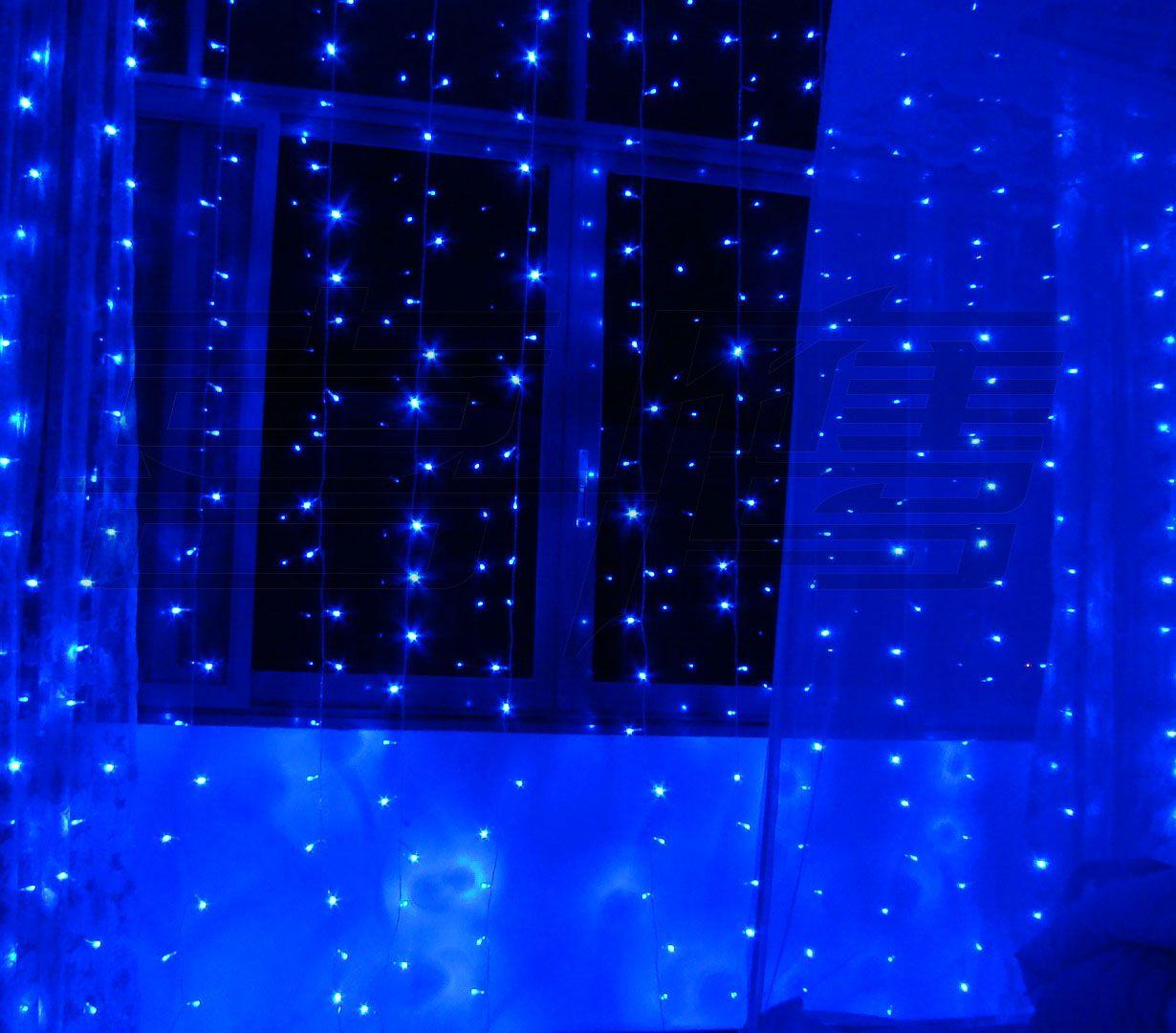 600 LED Bulbs 6m 3m Curtain Lights Christmas Ornament Light Fairy