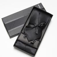 SOLID COLOR Neckties Men's Ties Sets Cufflinks Tie Set ...
