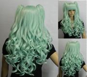 clolita long curly light green