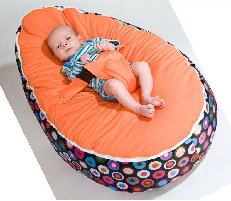 baby sleeping chair vladimir kagan rocking 2019 beanbags sofa chairs round seat bed portable washable suede short plush mix