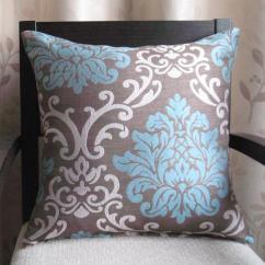 Sofa Cushion Replacement Service Oferta Cama Chaise Longue Barcelona New Arrival Polyester Cotton Damask Jacquard 45x45cm ...