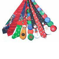Christmas Ties Men's Neckties Neck Tie Cravat Polyester ...