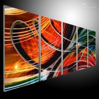 2018 Metal Wall Art Abstract Modern Sculpture Painting