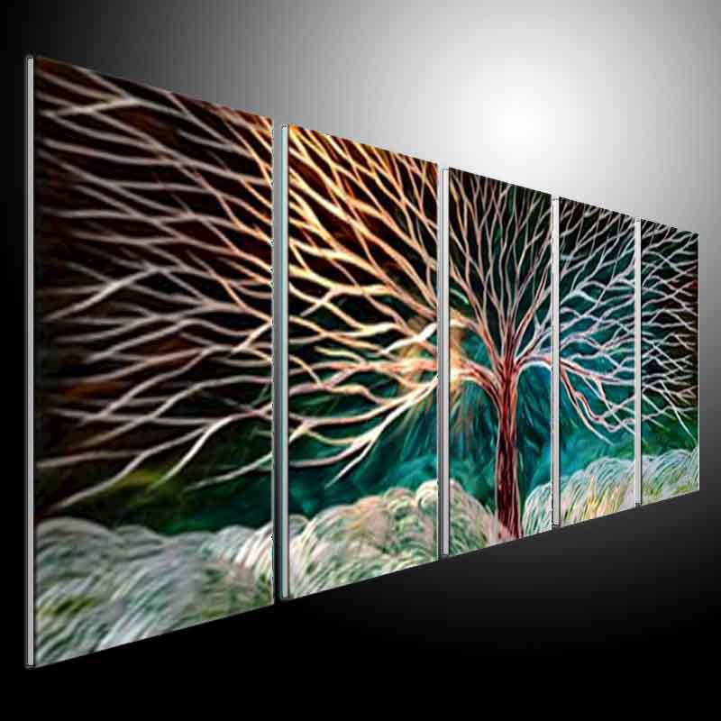 2017 Metal Wall Art Abstract Modern Sculpture Painting