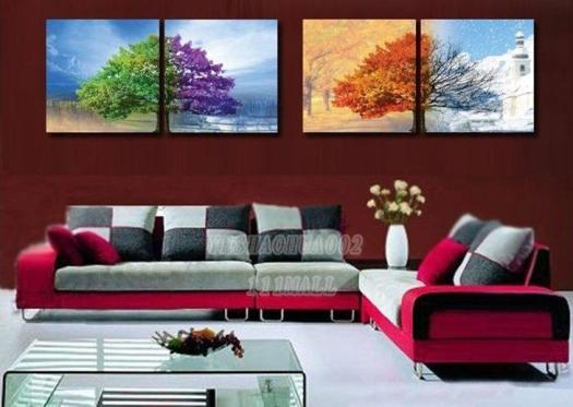 Home Decoration Modern Abstract Oil Painting Wall Art B338