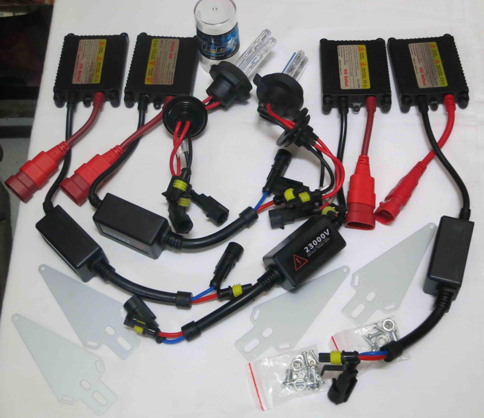 hight resolution of 35w h4 4 slim ballasts dual xenonlow beam high beam hid kits h13 4 h4 dual beam hid wiring diagram