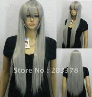 light gray hair anime cosplay wigs