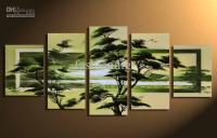 Wall Scenery Landscape Oil Painting Canva Modern Home ...