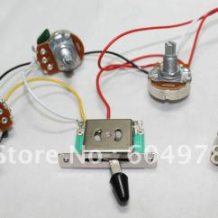 Fender Stratocaster 5 Way Switch Wiring Diagram 2003 Honda Crv Starter 2017 Tl St Harness Pickup Pots Jack