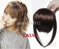 Twist Braid Hair Bands Fake Fringe Wig Hair Bands Belt