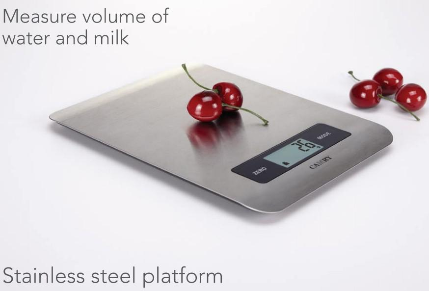 kitchen weight scale electronics 2019 digital balance with super slim stainless steel platform and 5kg capacity from sara2013 25 33 dhgate com