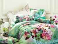 Green Floral Bedding Comforter Set Sets Queen King Size