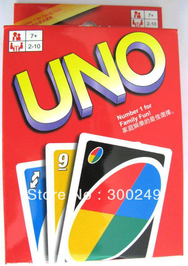 Uno Card Game Playing Card Family Fun H10087sl Card Games