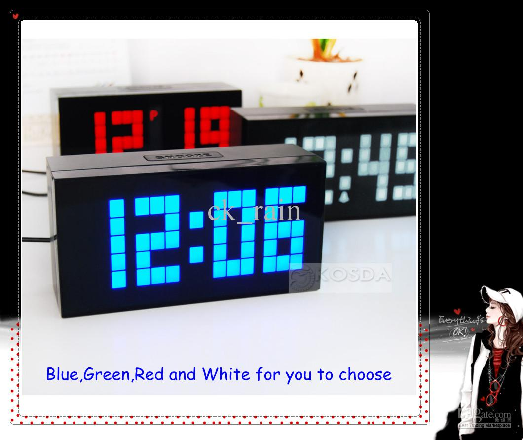 Large Led Display Board Countdown Digital Snooze
